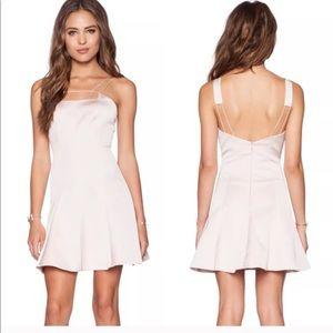 NEW! KeepSake strappy mini flared dress